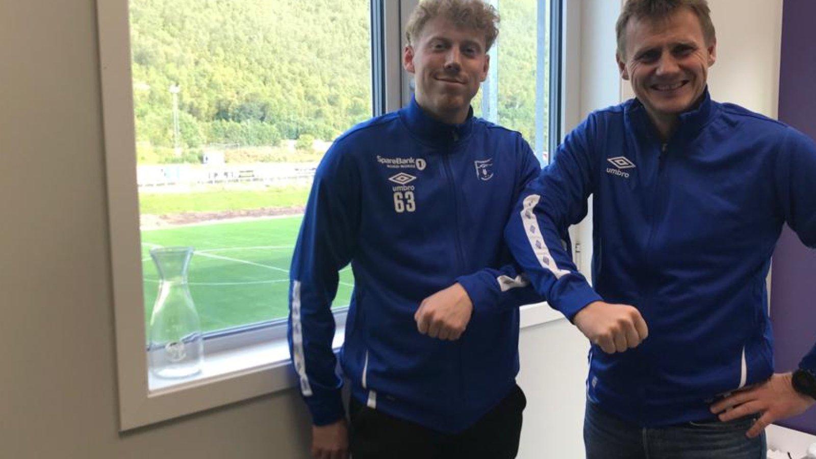 Adrian Pedersen og Thomas Heide