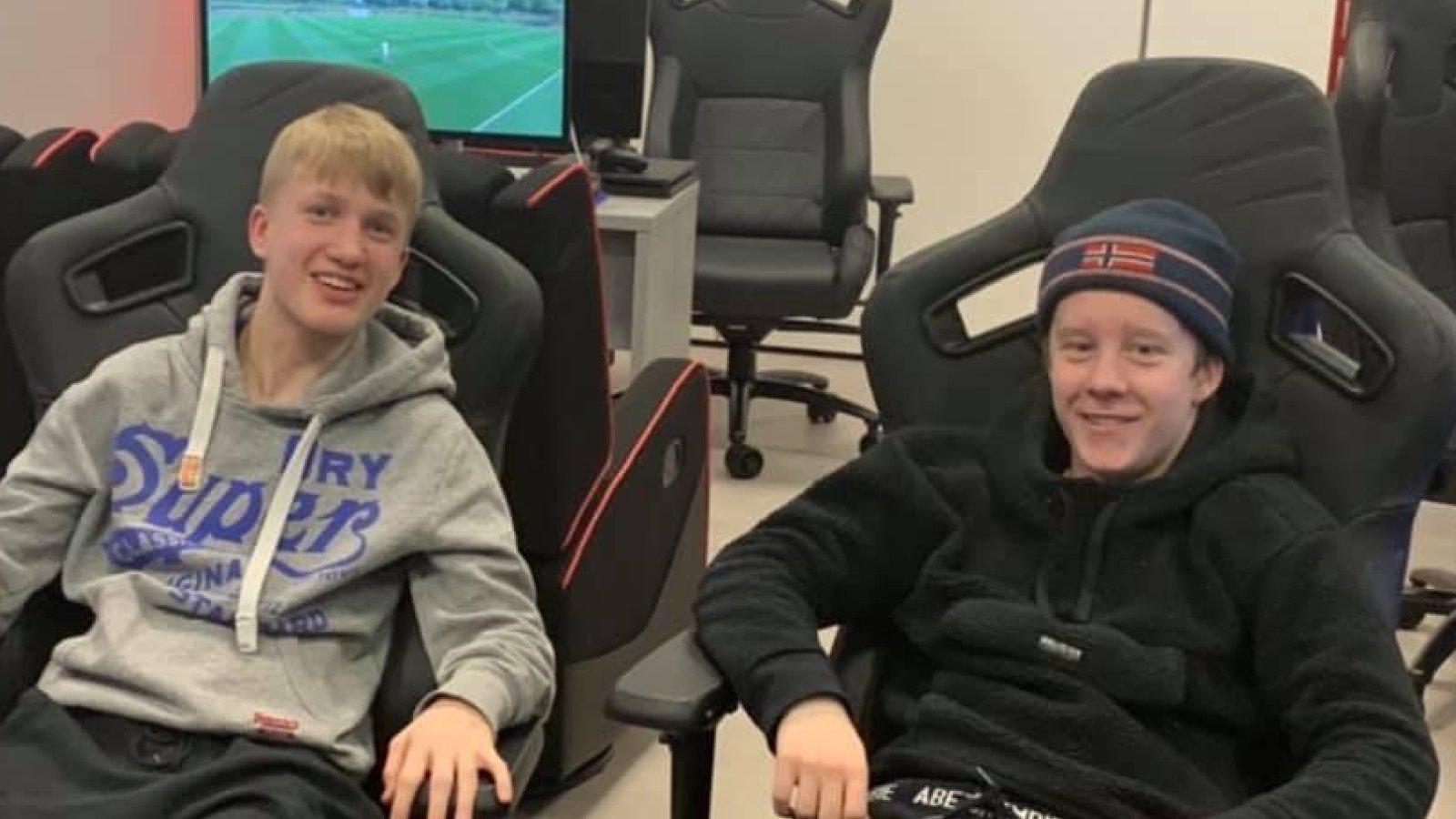 FIFA på Sverre og Marcus