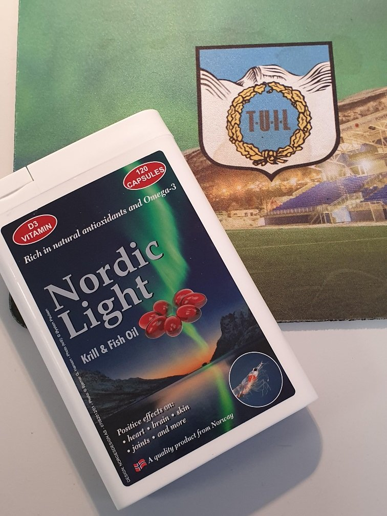 Nordic light fish & krill oil